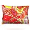 KESS InHouse Swirls by Rosie Brown Woven Pillow Sham