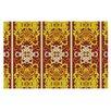KESS InHouse Butterfly Dog Damask by Mydeas Decorative Doormat