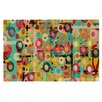 KESS InHouse Gift Wrapped by Bri Buckley Crazy Abstract Decorative Doormat