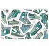 KESS InHouse Sneaker Lover III by Brienne Jepkema Decorative Doormat
