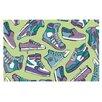KESS InHouse Sneaker Lover IV by Brienne Jepkema Decorative Doormat