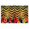 KESS InHouse Chevron and Dots by Deepti Munshaw Decorative Doormat