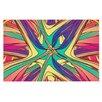 KESS InHouse Veins by Danny Ivan Abstract Decorative Doormat