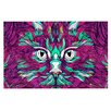 KESS InHouse Space Cat by Danny Ivan Decorative Doormat