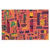 KESS InHouse Squares by Akwaflorell Decorative Doormat