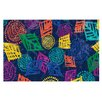 KESS InHouse African Beat by Emine Ortega Decorative Doormat