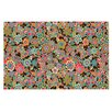 KESS InHouse My Butterflies & Flowers by Julia Grifol Floral Decorative Doormat