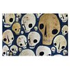 KESS InHouse Skulls by Jaidyn Erickson Decorative Doormat