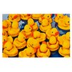 KESS InHouse Duckies by Maynard Logan Decorative Doormat