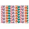 KESS InHouse Hearts by Louise Machado Decorative Doormat