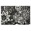 KESS InHouse Neptunes Garden by Monika Strigel Decorative Doormat