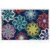 KESS InHouse Multi Flower by Jolene Heckman Flowers Decorative Doormat