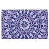KESS InHouse Kaleidoscope by Iris Lehnhardt Circle Decorative Doormat
