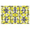 KESS InHouse Flowering Hearts by Miranda Mol Decorative Doormat
