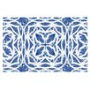 KESS InHouse Blue Explosion by Miranda Mol Decorative Doormat