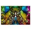 KESS InHouse Wizard of Oz by Mandie Manzano Fantasy Decorative Doormat