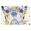 KESS InHouse Niko by Rebecca Fischer French Bulldog Decorative Doormat
