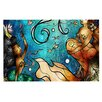 KESS InHouse Under the Sea by Mandie Manzano Mermaids Decorative Doormat