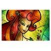 KESS InHouse Poison Ivy by Mandie Manzano Villain Decorative Doormat