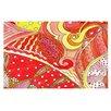 KESS InHouse Swirls by Rosie Brown Decorative Doormat