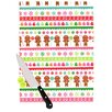 KESS InHouse Gumdrop Buttons by Heidi Jennnings Gingerbread Cutting Board