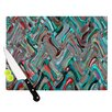 KESS InHouse Abstract Wave by Suzanne Carter Abstract Cutting Board