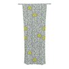 KESS InHouse Deco Orchid Curtain Panels (Set of 2)