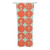 KESS InHouse Dotty Papercut Curtain Panels (Set of 2)