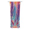 KESS InHouse Colorful Fire Curtain Panels (Set of 2)