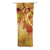 KESS InHouse Autumn Leaves Curtain Panels (Set of 2)