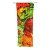 KESS InHouse One Love Curtain Panels (Set of 2)