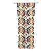 KESS InHouse Bohemian Ikat Curtain Panels (Set of 2)