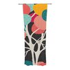 KESS InHouse Lovely Tree Curtain Panels (Set of 2)