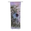 KESS InHouse Dandelion Clock Curtain Panels (Set of 2)