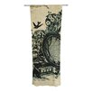 KESS InHouse Sound of Nature Curtain Panels (Set of 2)