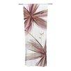 KESS InHouse Flower Curtain Panels (Set of 2)