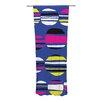 KESS InHouse Retro Circles Curtain Panels (Set of 2)
