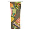 KESS InHouse Cosmic Aztec Curtain Panels (Set of 2)