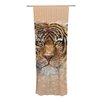 KESS InHouse My Tiger Curtain Panels (Set of 2)