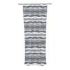 KESS InHouse 51 Shades of Gray Curtain Panels (Set of 2)