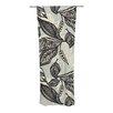 KESS InHouse Java Leaf Curtain Panels (Set of 2)