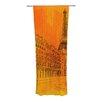 KESS InHouse Parisian Sunsets Curtain Panels (Set of 2)