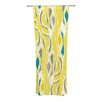 KESS InHouse Barengo Sunshine Curtain Panels (Set of 2)