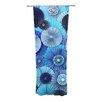 KESS InHouse Blue Lagoon Curtain Panels (Set of 2)