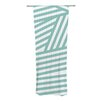 KESS InHouse Stripes Curtain Panels (Set of 2)