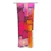 KESS InHouse Interlace Curtain Panels (Set of 2)