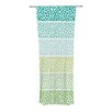 KESS InHouse Zen Pebbles Curtain Panels (Set of 2)