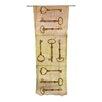 KESS InHouse Secret Keys Curtain Panels (Set of 2)