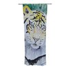 KESS InHouse Tiger Curtain Panels (Set of 2)