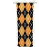 KESS InHouse Argyle Curtain Panels (Set of 2)